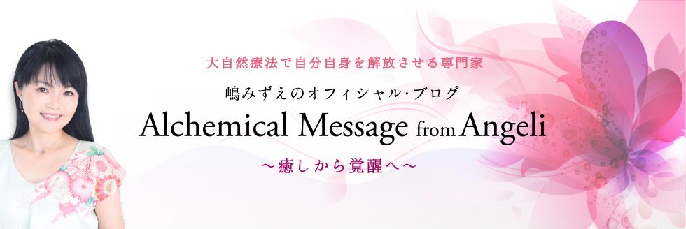 嶋みずえのオフィシャル・ブログ Alchemical Message from Angeli